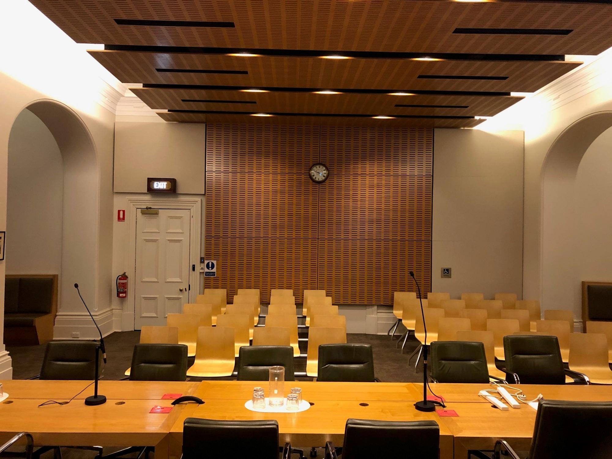 Supreme Court of Victoria courtroom 15