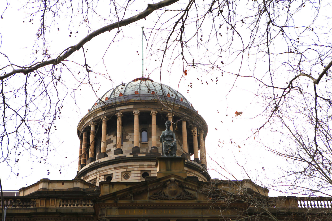 Dome of the Supreme Court in autumn